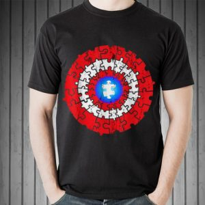 Awesome Captain American Autism Superhero Shield Awareness shirt