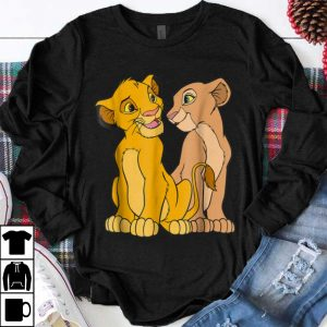 Awesome Disney The Lion King Young Simba and Nala Together shirt