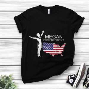 Awesome Megan For President Soccer Team American Flag shirt