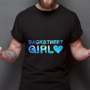 Backstreet Girl Watercolor Design 90s Music sweater