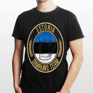 Beer Estonia Drinking Team Casual shirt