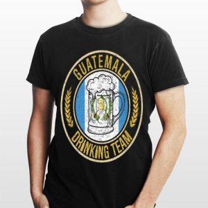 Beer Guatemala Drinking Team shirt