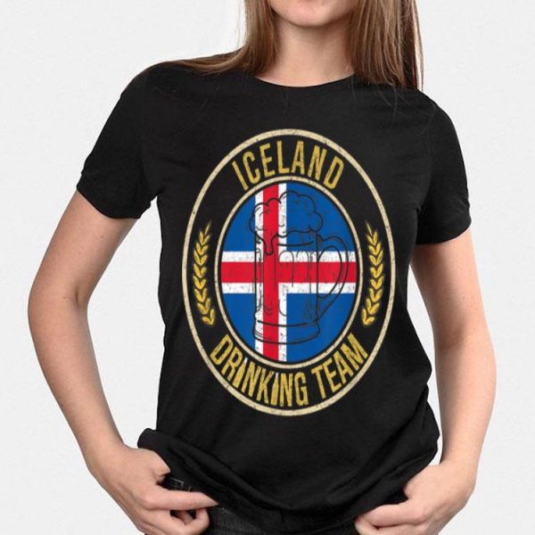 Beer Iceland Drinking Team Casual shirt