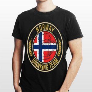 Beer Norway Drinking Team Casual shirt
