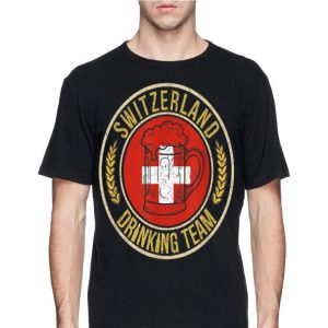 Beer Switzerland Drinking Team Casual shirt