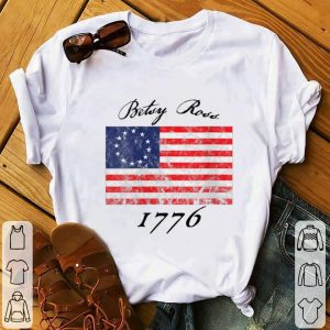 Betsy Ross Flag 1776 Vintage Revolutionary Youth tee