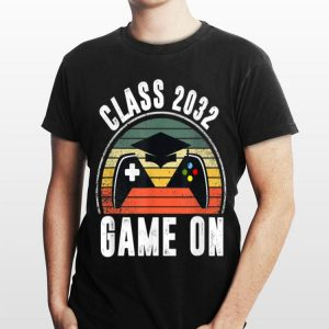 Class of 2032 Grow With Me Happy First Day of School shirt