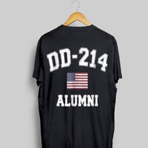 Dd 214 Us Armed Forces Alumni Usa Flag Vintage shirt
