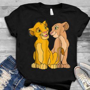 Disney The Lion King Young Simba and Nala Together Youth tee