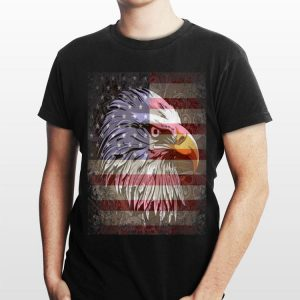 Eagle Mullet 4Th Of July American Flag Merica shirt