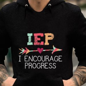 IEP I Encourage Progress Education guy tee