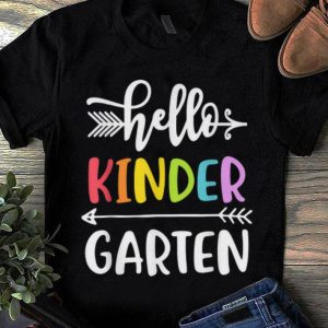 Kindergarten Hello Kinder Teacher sweater