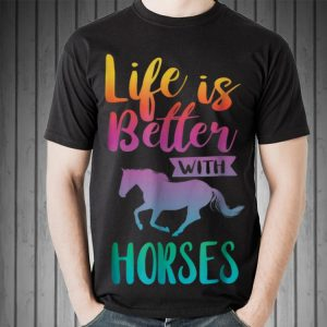 Life Is Better With Horses Riding sweater