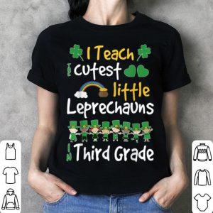Lucky Leprechauns St Patricks Day 3rd Grade Teacher shirt
