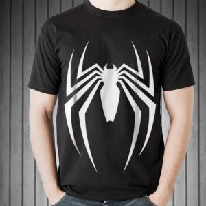 Marvel Spider Man Game Logo Graphic hoodie