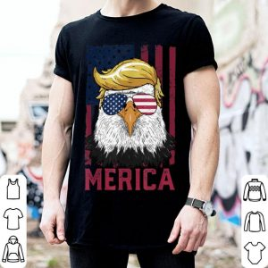 Merica Eagle 4Th Of July Sunglass Trump American Flag shirt