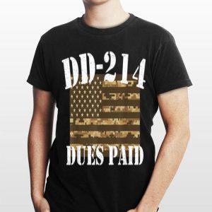 Military Dd214 Vintage Dd214 Dues Paid shirt