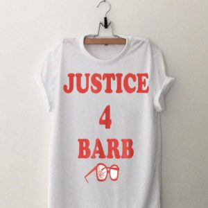Netflix Stranger Things Justice for Barb shirt