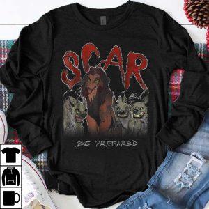 Premium Disney The Lion King Scar & Hyenas Be Prepared shirt