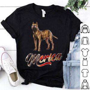 Presa Canario Breed Dog America Flag Patriot shirt