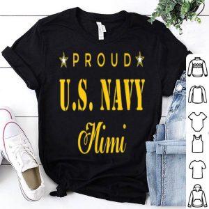 Proud U.S. Navy Mimi shirt