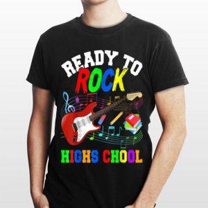 Ready To Rock High Shool Guitar Back To School shirt