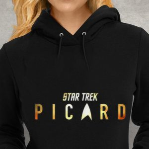 Star Trek Picard Shimmering Gold Youth tee