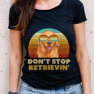 The Best Vintage Golden Retriever Don't Stop Retrieving Sunglass shirt