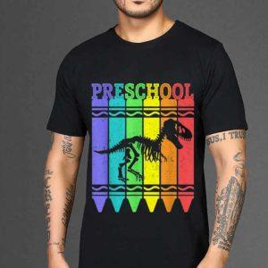 The best trend Back To School Preschool Crayon Dinosaurus Pen Color shirt