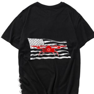 The best trend Drone American Flag Pilot shirt