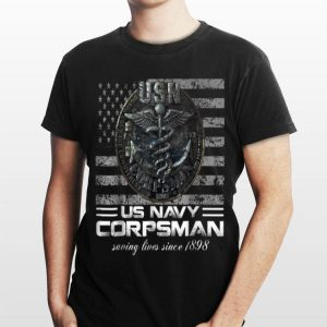 Us Navy Corpsman Navy Veteran Ideas shirt