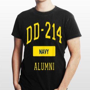 Us Navy Dd214 Fathers Day Veteran Dd214 Alumni shirt