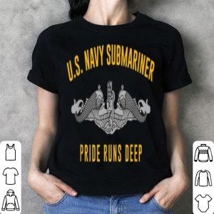 Us Navy Submariner Pride Runs Deep Sub Veteran Tee shirt