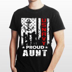 Us Navy Veteran Day Proud Aunt shirt