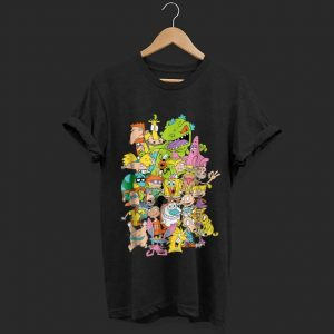 Wonderful Nickelodeon Complete Nick 90s All Character shirt