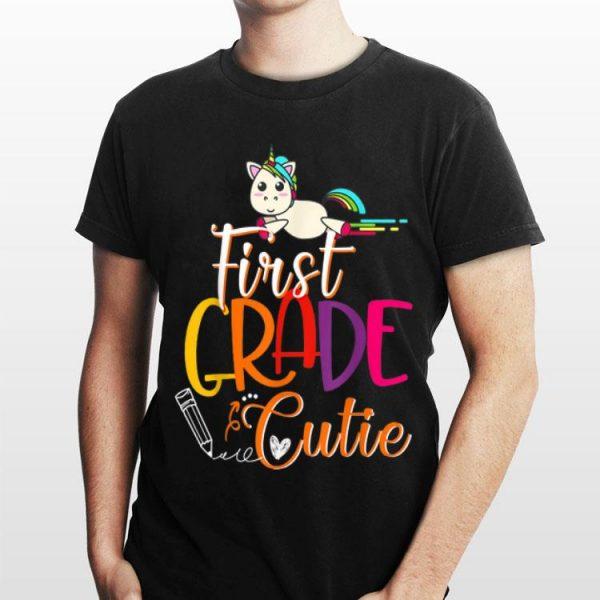 1st Grade Cutie First Day Of School Kids shirt