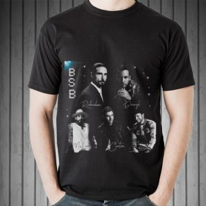 Awesome Backstreet Boy Member Signature BSB shirt
