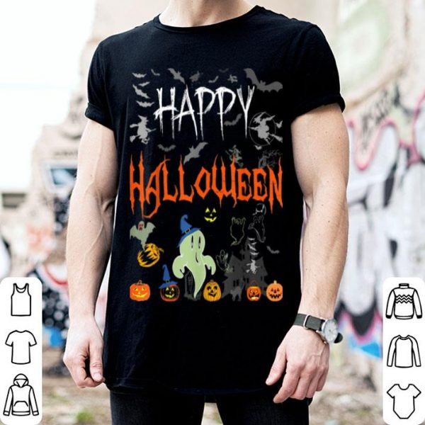 Awesome Happy Halloween - Funny Vintage Halloween shirt