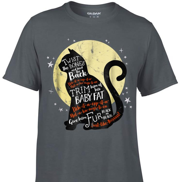 Awesome Thackery Binx Cat Twist The Bones And Bend The Back shirt 1 - Awesome Thackery Binx Cat Twist The Bones And Bend The Back shirt