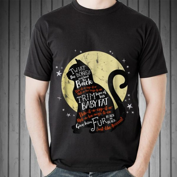 Awesome Thackery Binx Cat Twist The Bones And Bend The Back shirt