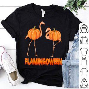 Beautiful Flamingoween Pumpkin, Pumpkin Flamingo Halloween Custome shirt