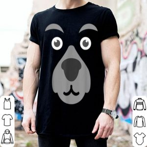 Beautiful Funny Cute Bear Face Mask Halloween Costume Gift shirt