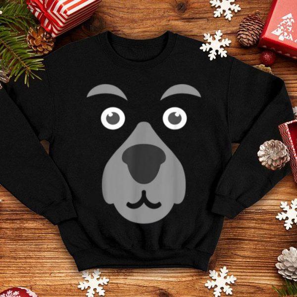 Beautiful Funny Cute Bear Face Mask Halloween Costume Gift shirt