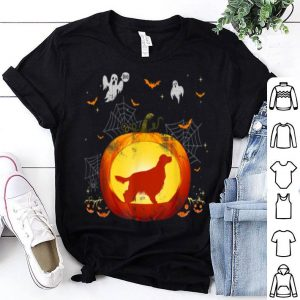 Beautiful Pumpkin Irish Setter Halloweens Gift For Dog Lovers shirt