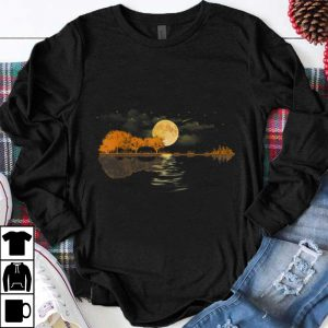 Funny Acoustic Guitar Player Guitar Lake shirt