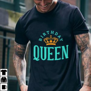Funny Birthday Crown Queen shirt