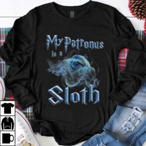Funny My Patronus Is A Sloth Wizard Magic shirt