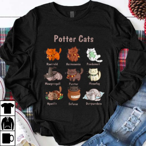 Funny Potter Cat shirt