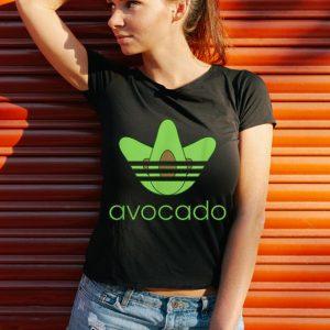 Funny adidas avocado shirt 2