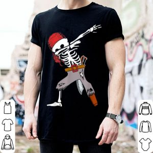 Hot Dabbing Skeleton Pirate Halloween Kids Boys Gift Dab shirt